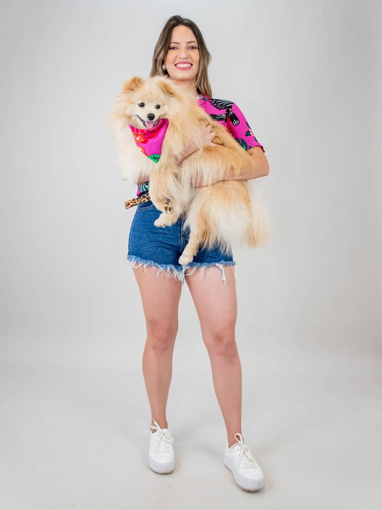 Camisa Sasha Tucano Pink  - Carmelina.com.br