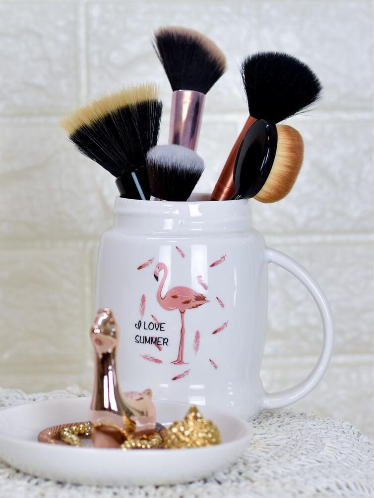 Caneca Flamingo  - Carmelina.com.br