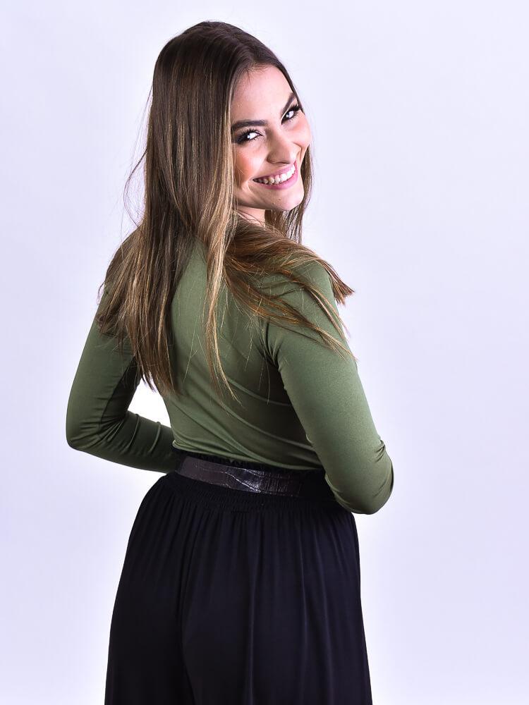Cinto Corrente Preto  - Carmelina.com.br