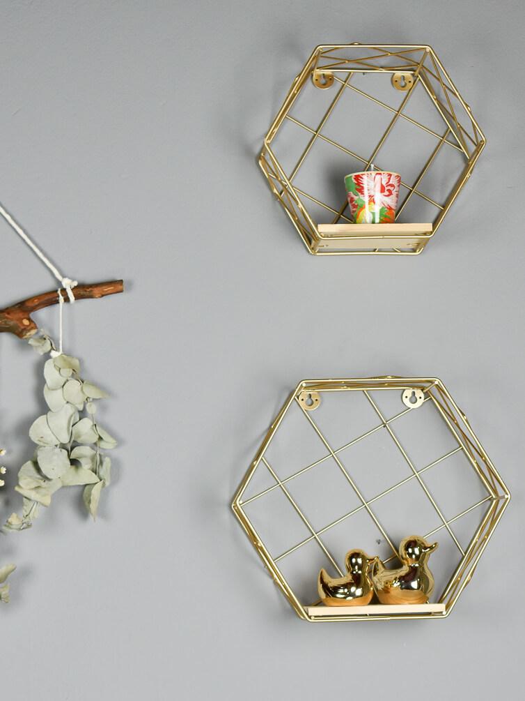 Kit Prateleira Hexagonal