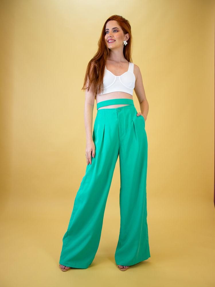 Pantalona Detalhe Abertura