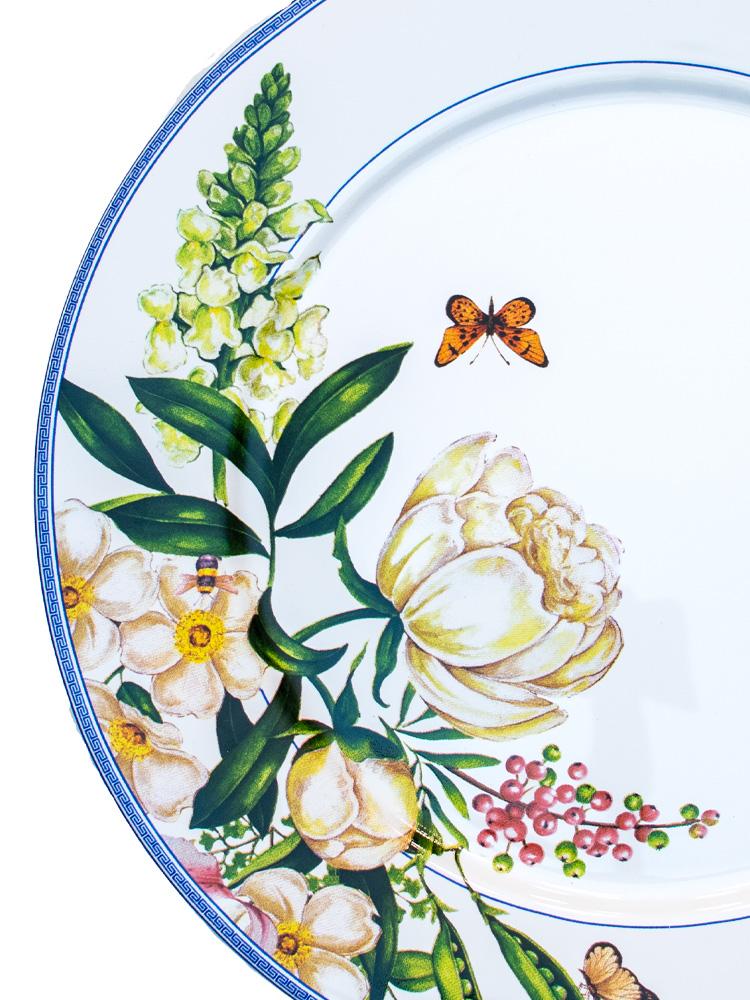 Prato Raso Reto Pot de Fleur