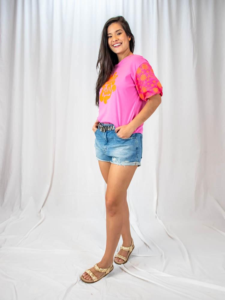 Short Bolso Aparente  - Carmelina.com.br