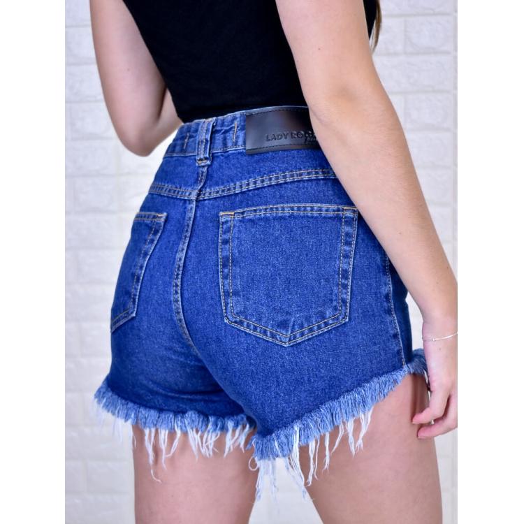 Short Hot Pant Desfiado  - Carmelina.com.br
