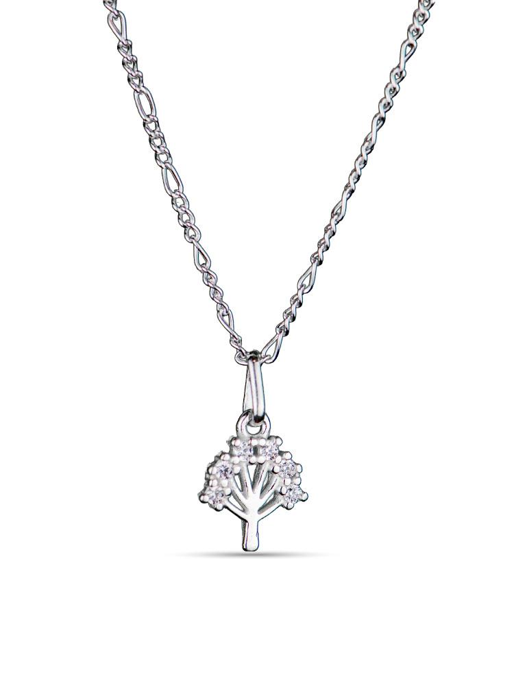 Tornozeleira Prata Árvore da Vida