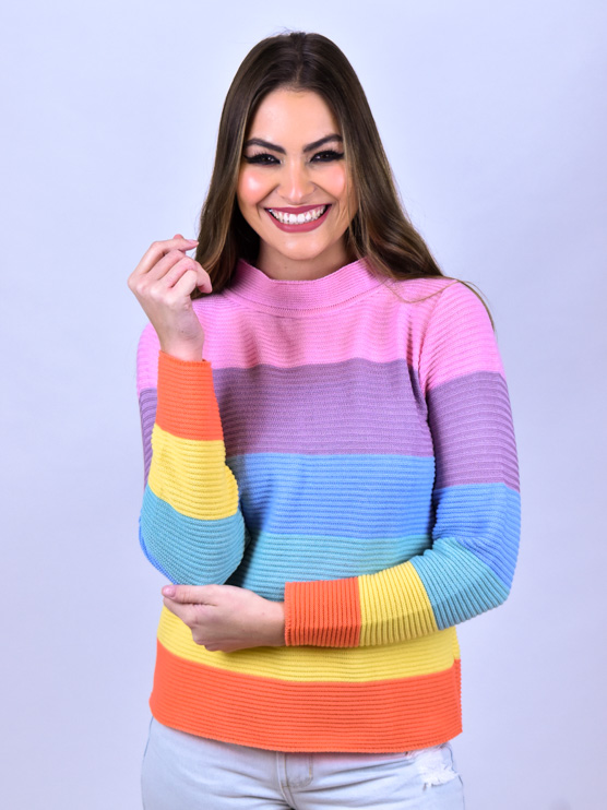 Tricot Colors   - Carmelina.com.br