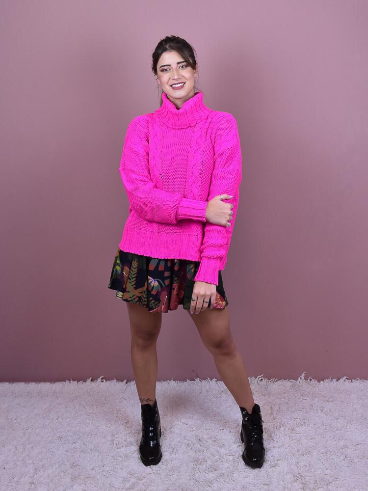 Tricot Gola Pink