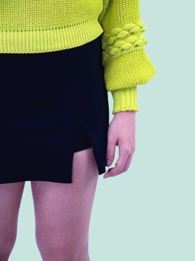 Tricot Textura Lima