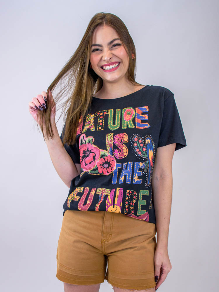 Tshirt Média Farm Nature Is The Future