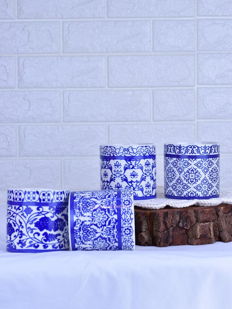 Vaso Azulejo Costela de Adão   - Carmelina.com.br