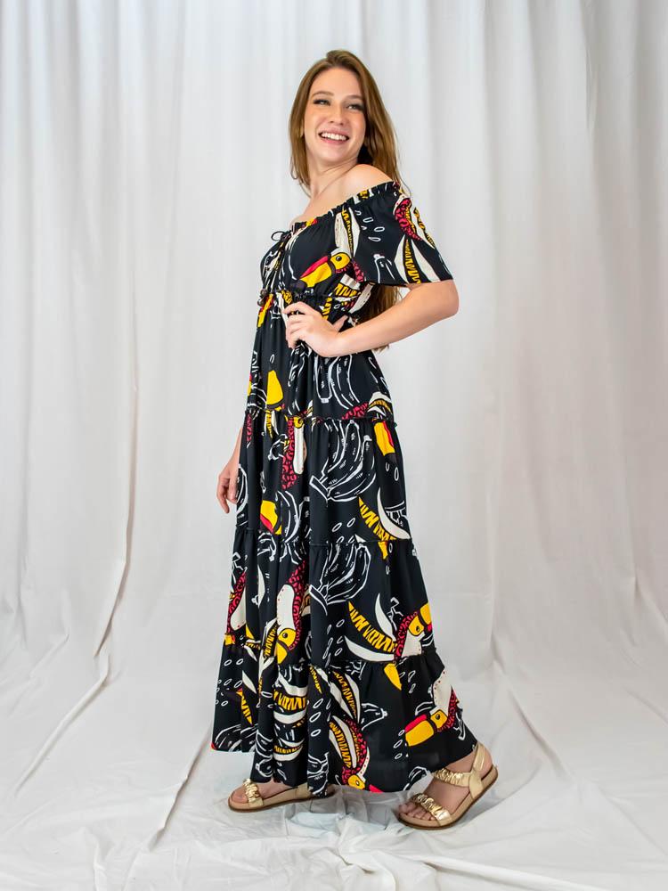 Vestido Maysa Tucano  - Carmelina.com.br
