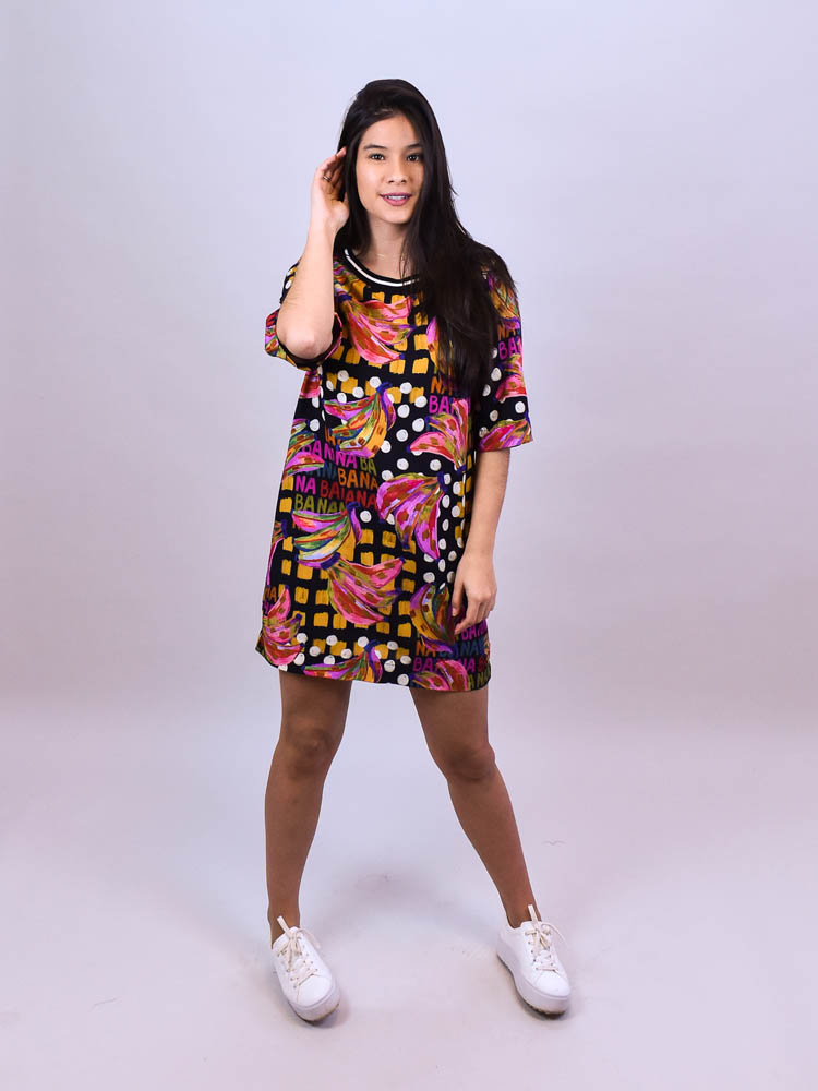 Vestido Tshirt Farm Bananatic  - Carmelina.com.br