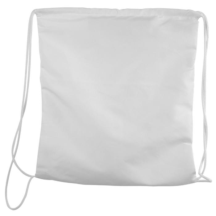 Mochila Esportiva para Personalizar com Sublimação 40x35cm (Branca)  - ALFANETI COMERCIO DE MIDIAS E SUBLIMAÇÃO LTDA-ME
