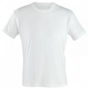Camiseta Branca para Sublimação Gola Careca 100% Poliéster