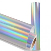 Filme Vinil Transfer Para Recorte Holográfico 100x50cm