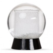 Globo De Neve Com Porta Retrato Em Plástico Rígido 10x13CM