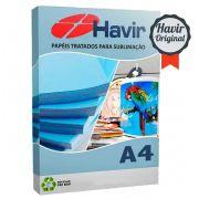 Papel Resinado Para Sublimação Havir 90g (FUNDO AZULÃO) A4