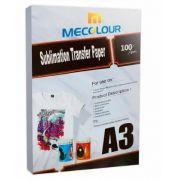Papel Resinado Para Sublimação Mecolour (FUNDO ROSA) . A3