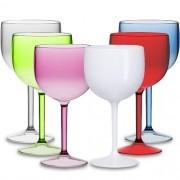 Taça Gin em Acrílico Translúcido Colorido - 750ml