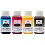 Tinta Sublimática GÊNESIS para Impressoras Epson 100ml cada  (Kit 4 cores)
