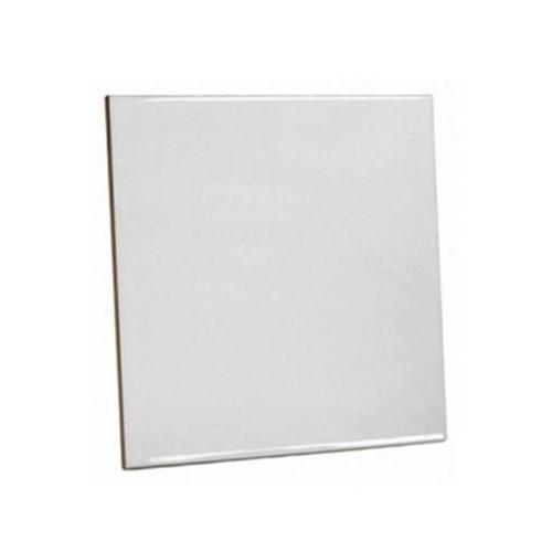 Azulejo Branco de Cerâmica para sublimação 10X10CM  - ALFANETI COMERCIO DE MIDIAS E SUBLIMAÇÃO LTDA-ME
