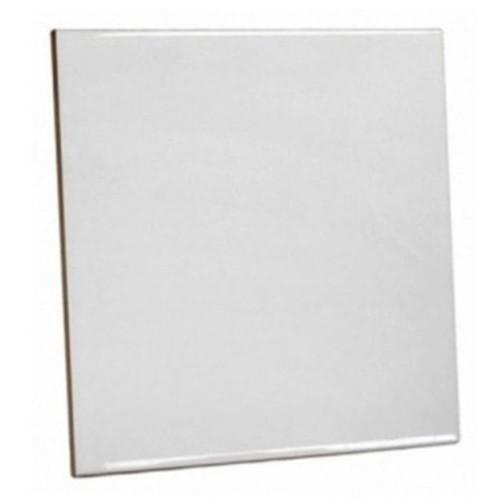 Azulejo Branco de Cerâmica para sublimação 20X20CM  - ALFANETI COMERCIO DE MIDIAS E SUBLIMAÇÃO LTDA-ME