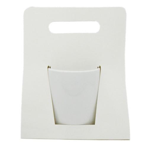 Caixinha Branca Sublimática para Caneca - ( Tipo Bolsa com Alça Comum )  - ALFANETI COMERCIO DE MIDIAS E SUBLIMAÇÃO LTDA-ME