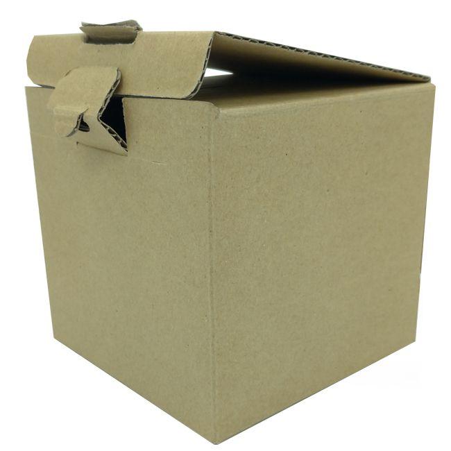 Caixinha de papelão pardo para caneca - (Sem janela e alça)  - ALFANETI COMERCIO DE MIDIAS E SUBLIMAÇÃO LTDA-ME