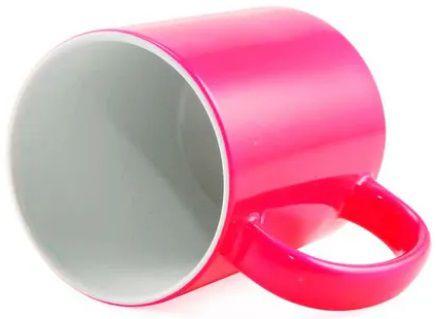 Caneca para Sublimação de Cerâmica Neon Rosa  - ALFANETI COMERCIO DE MIDIAS E SUBLIMAÇÃO LTDA-ME