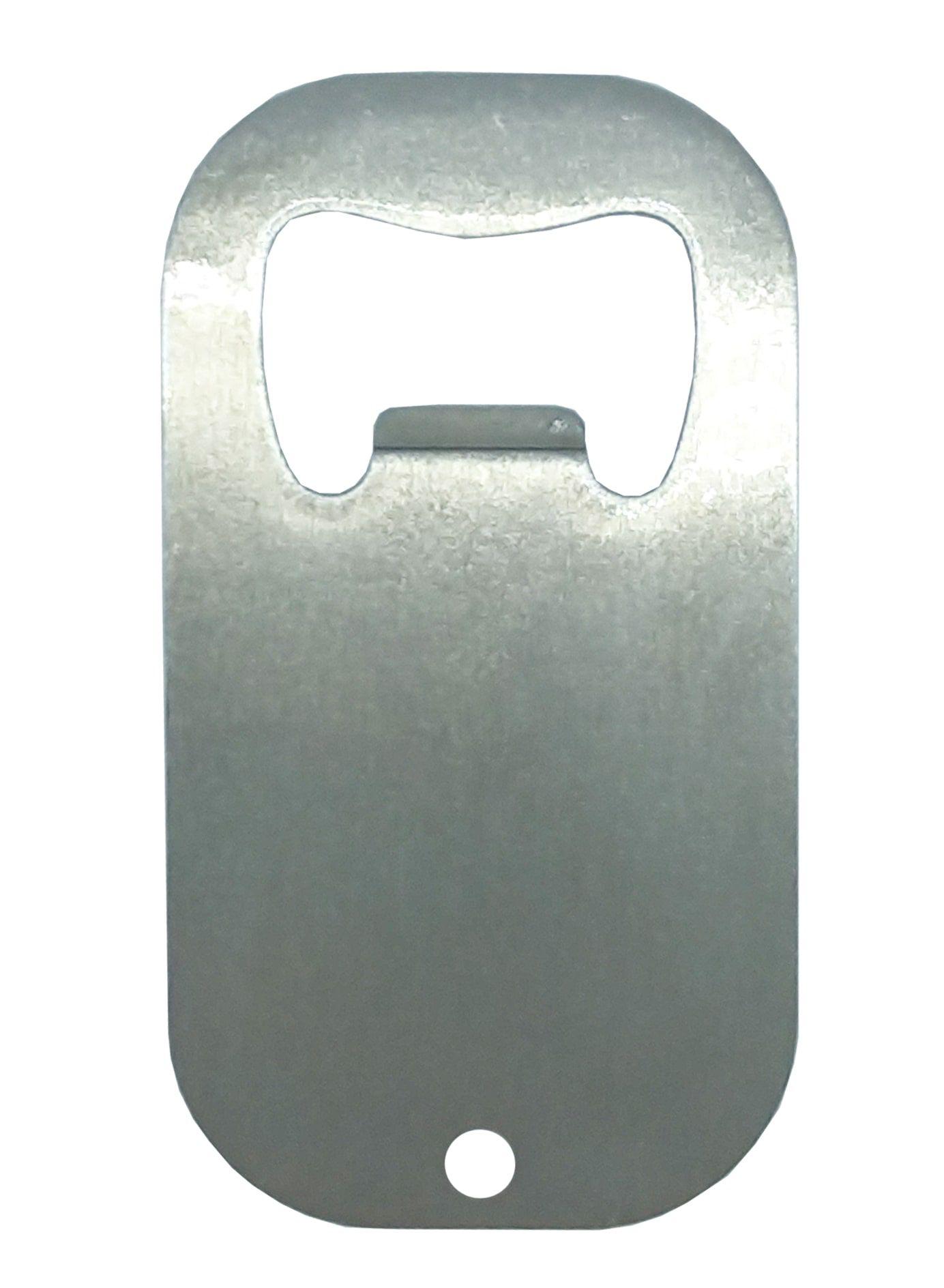 Chaveiro abridor de garrafa sublimático em metal inoxidável   - ALFANETI COMERCIO DE MIDIAS E SUBLIMAÇÃO LTDA-ME