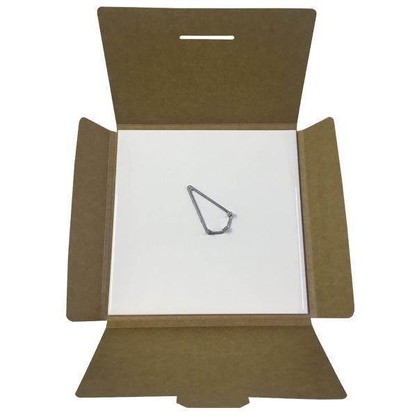 KIT Azulejo Branco de Cerâmica para sublimação 20X20CM + Caixinha sublimática + Suporte  - ALFANETI COMERCIO DE MIDIAS E SUBLIMAÇÃO LTDA-ME