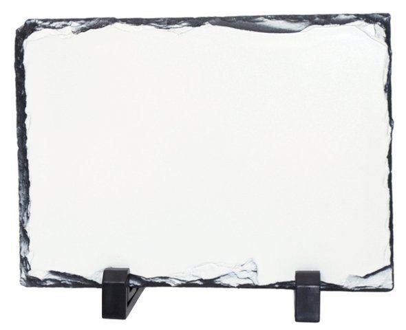 Pedra em Ardósia Com Brilho para Sublimação 15X20cm  - ALFANETI COMERCIO DE MIDIAS E SUBLIMAÇÃO LTDA-ME