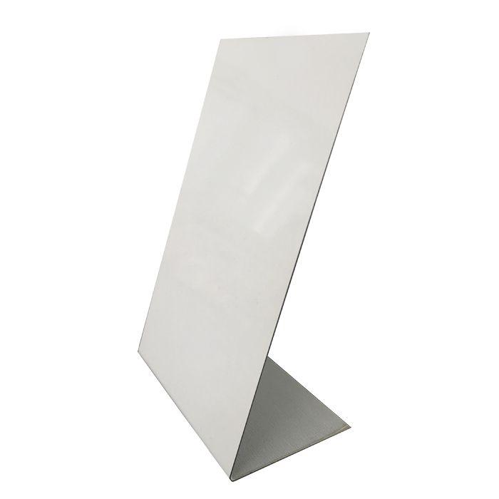 Placa Para Sublimação 10x15 (Alumínio)  - ALFANETI COMERCIO DE MIDIAS E SUBLIMAÇÃO LTDA-ME