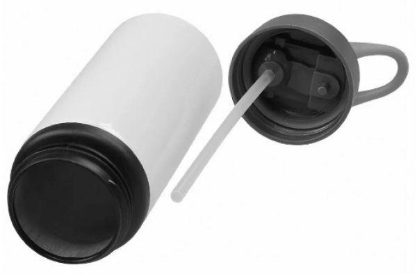 Squeeze de Alúminio Branco Resinado Para Sublimação 600ml (NIKE)  - ALFANETI COMERCIO DE MIDIAS E SUBLIMAÇÃO LTDA-ME