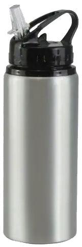 Squeeze de Alumínio Tampa Bico para Sublimação 500ml - Prata  - ALFANETI COMERCIO DE MIDIAS E SUBLIMAÇÃO LTDA-ME