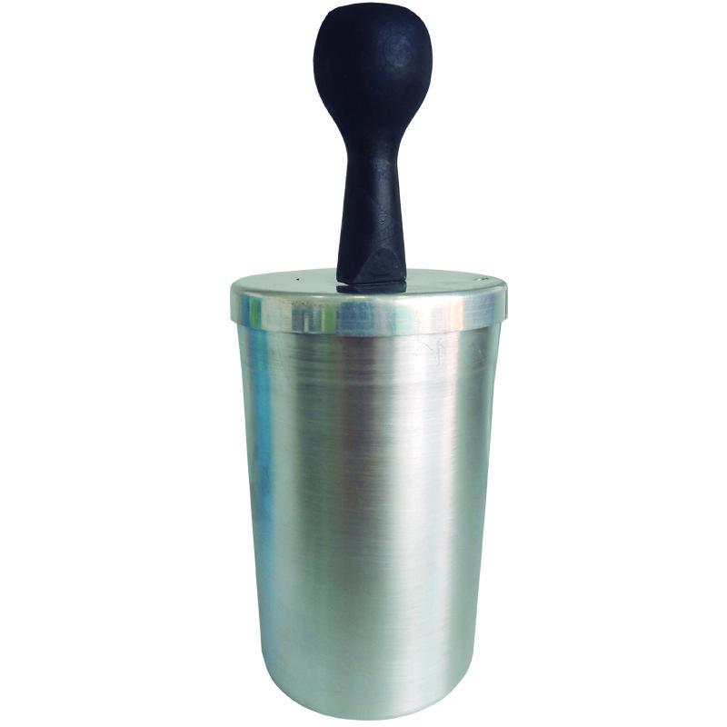 Suporte Interno (Culote em alumínio ) para canecas Plástica    - ALFANETI COMERCIO DE MIDIAS E SUBLIMAÇÃO LTDA-ME