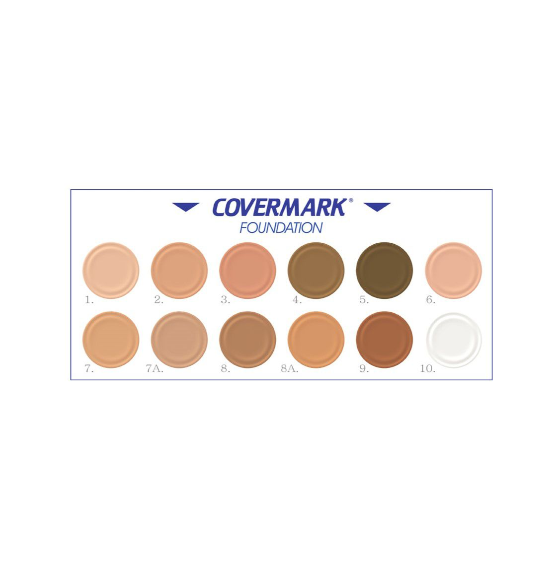 Amostra Covermark Foundation - Refil