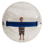 Water Ball 1,80m com Zíper Nacional - Acompanha Inflador Elétrico