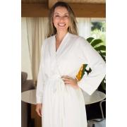 Robe Malha Off-White