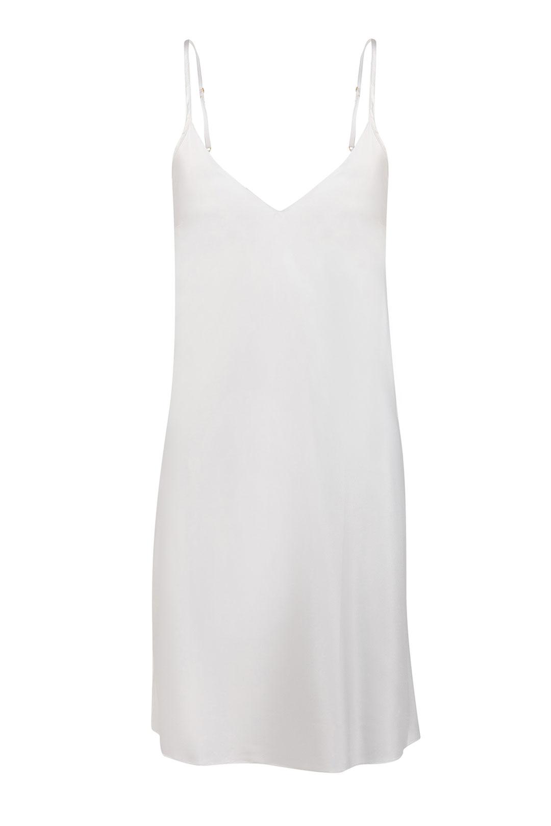 Camisola Cetim Básico Branco