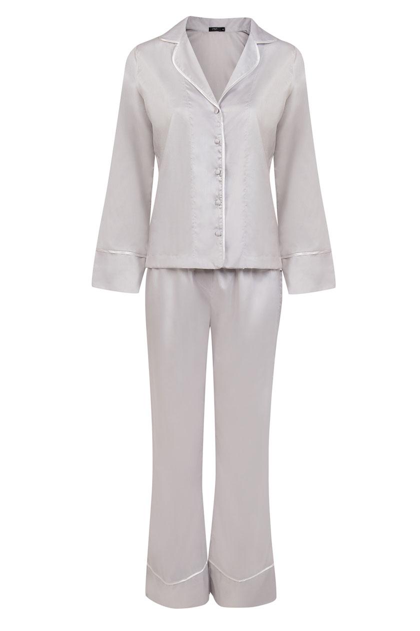 Pijama Prata 100% Algodão