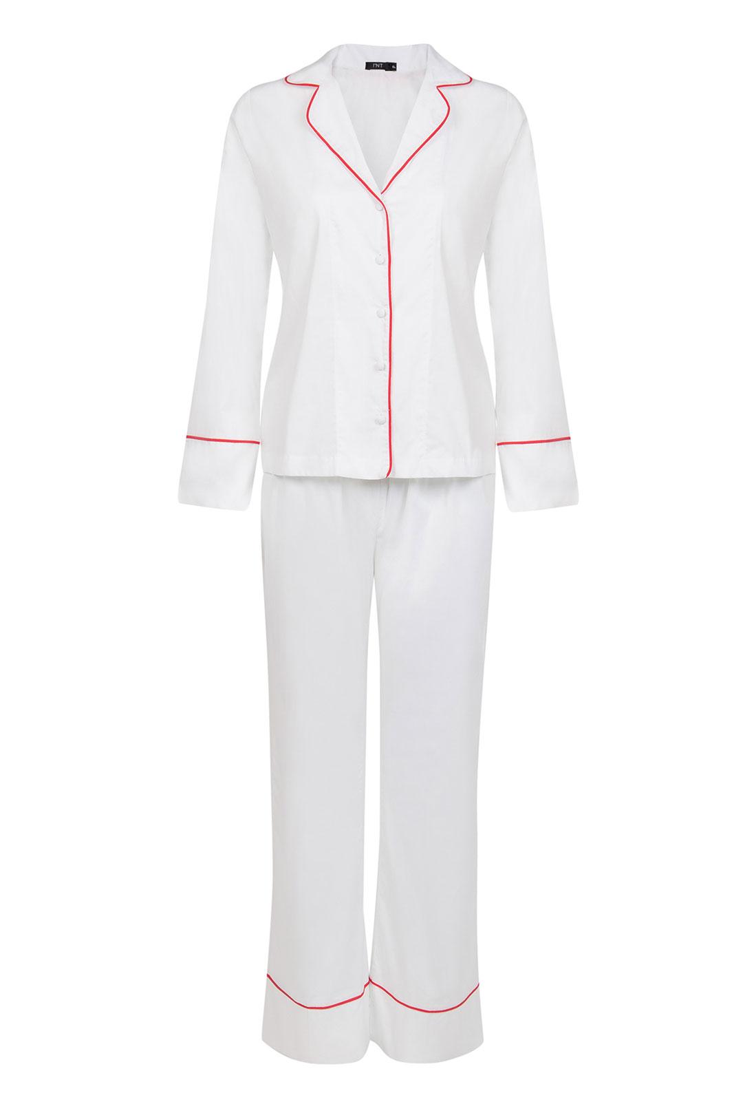 Pijama Branco 100% Algodão