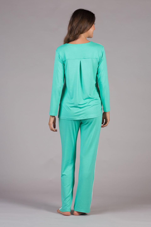 Pijama Malha Verão Verde