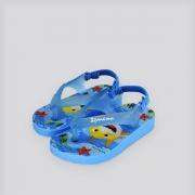 Chinelo Baby Ipanema Marítimo Azul