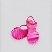 Sandália Infantil Grendene Barbie Candy Bag  Rosa Médio