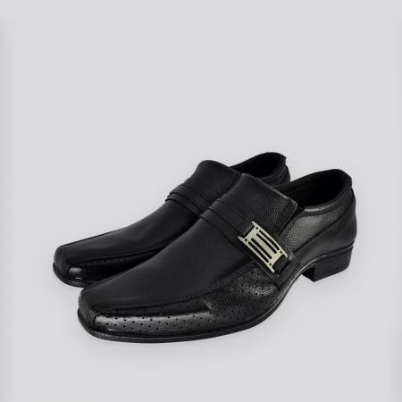 Sapato Social Masculino Cabedali C10 Preto