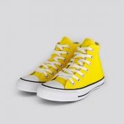 Tênis Unissex Converse All Star Amarelo Cano Alto