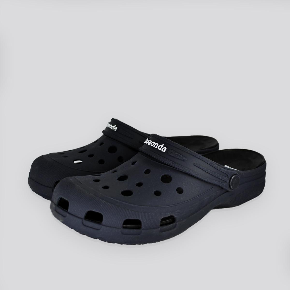 Chinelo Crocs John Azul