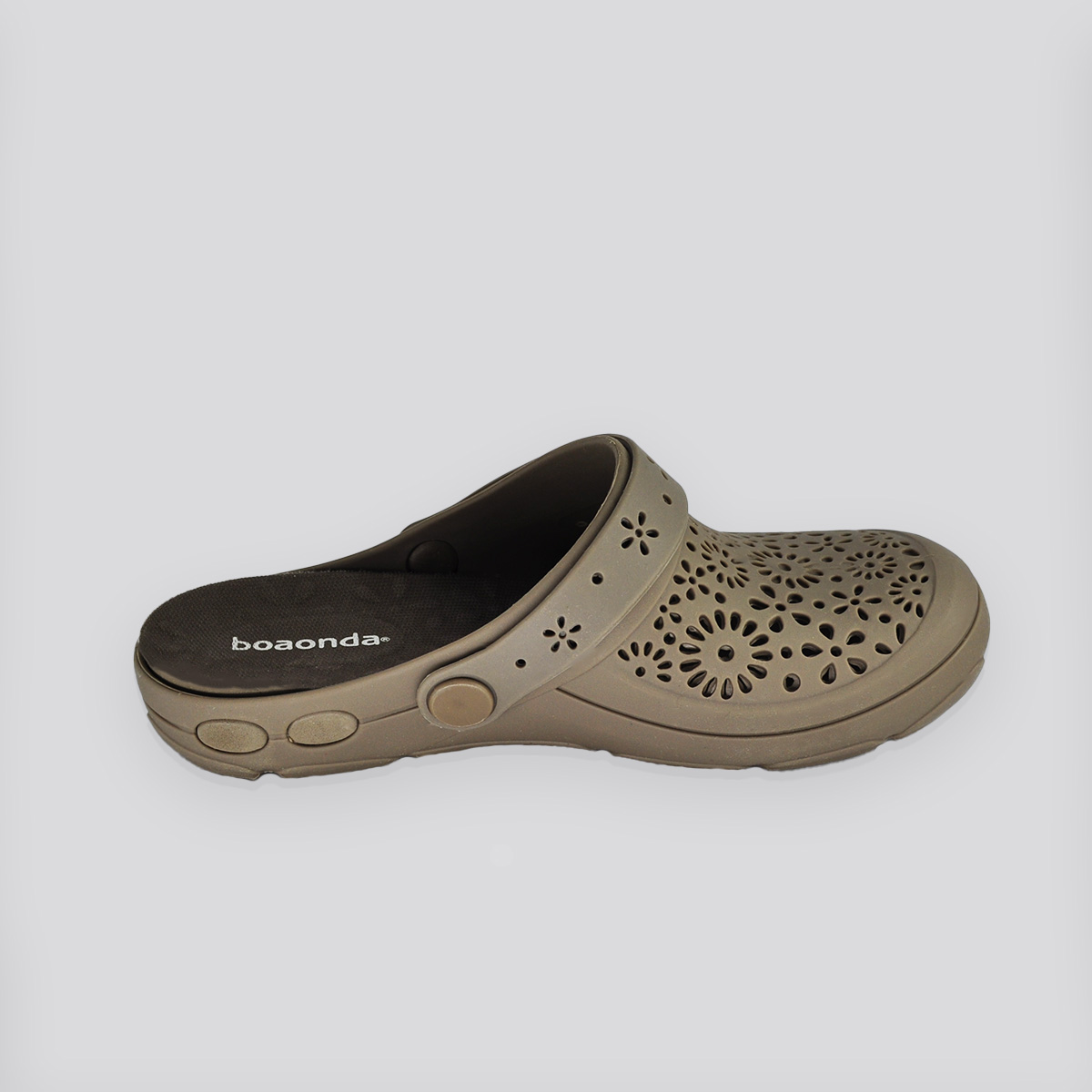 Chinelo Crocs Nellie Capuccino (Marrom)