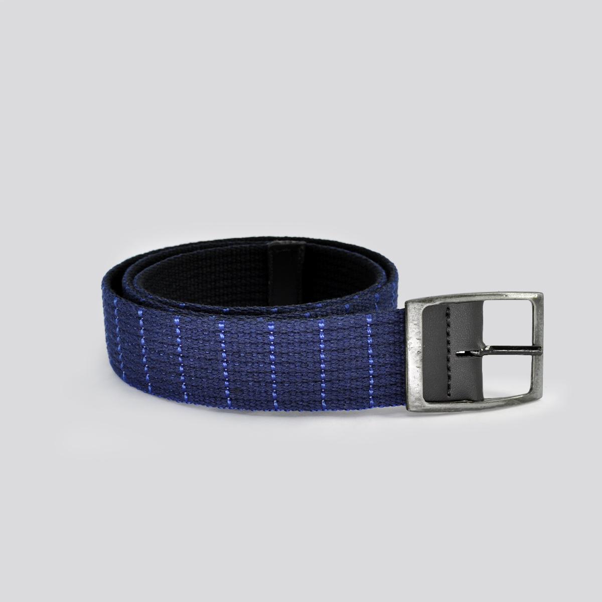 Cinto Casual LF Braska Azul Escovado